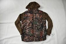 Cabela's Youth 2-fer Hoodie Jacket Camo Fleece Hunting Coat Size Large