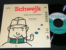 JAROSLAV HASEK Schwejk III gelesen von FRANZ KUTSCHERA / DDR SP'58 ETERNA 510033