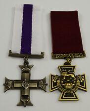 Superb Pair Full Size Replica British Service & Gallantry Medals. Victoria Cross