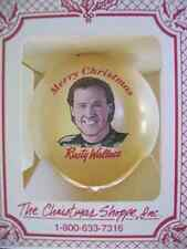 Christmas Ornament of Rusty Wallace #2 Christmas Ball Glass Multicolor, 1993
