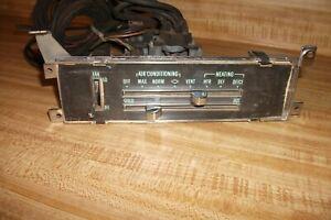 1970 Chevrolet Chevelle El Camino Monte Carlo Heater AC Air Conditioning Control