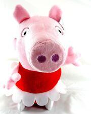 "Peppa Pig Medium 13.5"" Plush Doll Toy Pal, Pink/ Red"