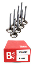 Brian Crower Stainless Steel Intake Valves x 8 - For Nissan RPS13 180SX SR20DET