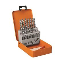 AEG HIGH SPEED STEEL DRILL BIT SET - 19 PIECE SET