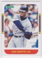 2021 Donruss KEN GRIFFEY JR. (Gray Jersey) Baseball Card # 235 SEATTLE MARINERS