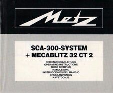 Metz-sca-300 - sistema + mecablitz 32 CT 2-manual de instrucciones manual-b3706