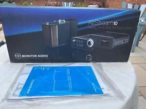 Monitor Audio Airstream 10 internet/Wifi DAB FM radio system