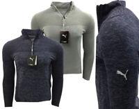 Puma Golf Evoknit Seamless 1/4 Zip Pullover RRP£70 LARGE XL XXL Evo Knit Jumper