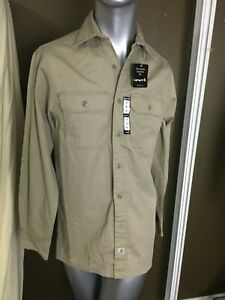Men's CARHARTT  Long Sleeve Work Shirt Size S Relaxed Fit