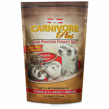 Marshall Pet Products Carnivore Plus Ferret Diet, 3.5 lbs.