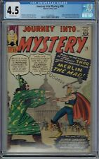 CGC 4.5 JOURNEY INTO MYSTERY #96 1ST APPEARANCE OF MERLIN THE MAD THOR OW PAGES