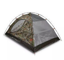 Caterpillar Cat Realtree 2 Person Dome Camping Tent 84x54x41 Camo Camouflage
