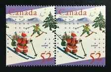 Canada #1628as MNH, UNICEF and Christmas Booklet Pair of Stamps 1996