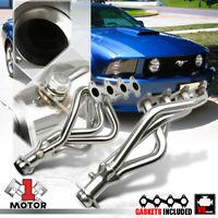 Stainless Steel Long Tube Exhaust Header Manifold for 05-10 Mustang 4.6 281 V8