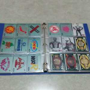 BBM Wrestling Cards 1995-1996 special file and 409 card set Rare from Japan