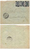 1296 - Colonie, Eritrea - 15 cent sovrastampato su busta per Asmara, 29/10/1925