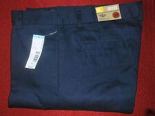 Nwt Boys 30H 30x28 Husky Dockers Uniform Flat Adjustable Khaki Pants Double Knee