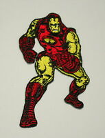 Official Marvel Comics Classic Iron Man Iron-On Cloth Jacket Patch New