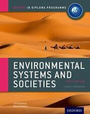 IB Environmental Systems and Societies Course Book: 2015 edition Oxford IB Diplo