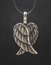 Sterling Silver Pendant Solid 925 ANGEL WINGS PE000605 EMPRESS