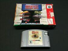 Midway's Greatest Arcade Hits: Vol.1 Nintendo 64 Caja y Cartucho Comprobado! G12