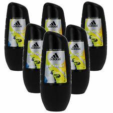 6 x 50ml Adidas GET READY Roll On Deo Deodorant Rollon Deostick Herrendeo