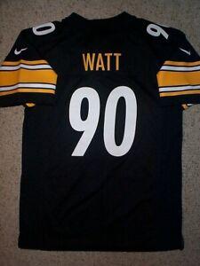 *IRREGULAR* Pittsburgh Steelers TJ WATT nfl NIKE Jersey YOUTH KIDS BOYS (xl)