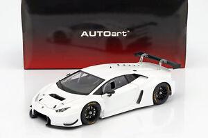 Lamborghini Huracan GT3 Baujahr 2015 weiß 1:18 AUTOart