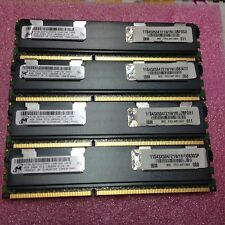 16GB 4x 4GB DDR3-1333 MICRON 2Rx4 PC3-10600R RAM Server ECC Reg Registered