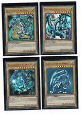 4x Ojos Azules W. Dragón lckc-de001,1st,ULTRA RARO ,ALEMÁN,Todas las 4 VERSIONES