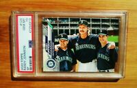 2020 Topps #124 RANDY JOHNSON Mariners PSA 10 GEM MINT
