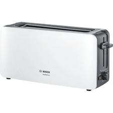 Bosch TAT6A001 ComfortLine Langschlitz-Toaster weiß