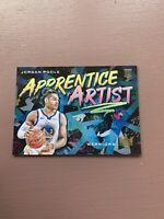 2019-20 Panini Court Kings: Jordan Poole Rookie - Apprentice Artist