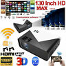 Smart Android 4K 1080P HD WiFi Bluetooth 3D LED Home Cinema Video Projector