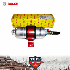 Genuine Bosch Motorsport 044 700hp Fuel Pump and Anodized Alloy Bracket Clamp