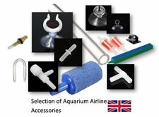 Aquarium Fish Tank Air Line Tube Accessories T Connector Suction Cups Valves Bar