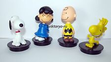 Cup topper figurine toy The Peanuts Movie/Snoopy and the little pusataya