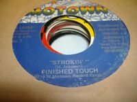 Soul 45 FINISHED TOUCH Strokin' on Motown