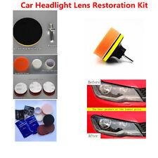 Professional Polishing Tool Car Headlight Lens Restoration Kit Restorer system