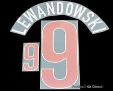 La Polonia lewdandowski 9 EURO 2012 football shirt NOME/NUMERO KIT SET di distanza