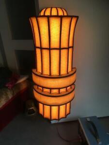 Lampen aus Kino , Theater  original 1920-30 Jugendstil o. Art Deco ?