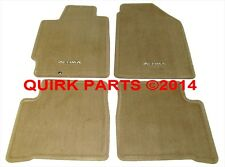 2002-2004 Nissan Altima | Blonde Beige Carpeted Floor Mats Front & Rear OEM NEW