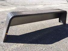 """Tandem Treadplate 14Ga Steel Trailer Fender , Utility for 15"""" WHEEL D2E OEM"""