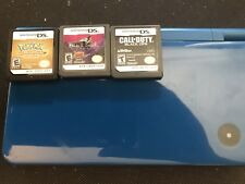 Nintendo DSI XL With Games Pokemon Heart Gold Black Sigil