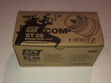 "*NEW* HERTZ ST25 1"" HIGH EFFICIENCY COMPRESSION BULLET SPL COMPETITION TWEETERS"