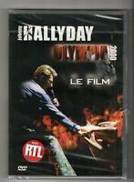 █ JOHNNY HALLYDAY : DVD NEUF - 1ére édition  avec STICKER RTL - OLYMPIA 2000