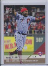 2018 Topps NOW 550 Maikel Franco Philadelphia Phillies [8.2.18] ~ PR 293