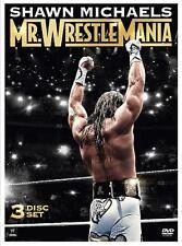 WWE - Shawn Michaels - Mr. Wrestlemania (DVD, 2014, 3-Disc Set) New  Region 4