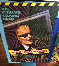 MAX HEADROOM: PROMOTIONAL DISPLAY PACKAGE