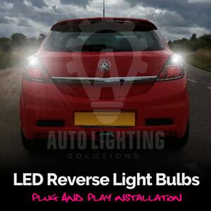For Vauxhall Astra H Opel VXR 2004-2010 White LED Reverse Light Bulbs *SALE*